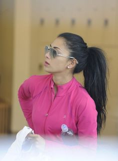 Nicole Scherzinger - Nicole Scherzinger is Ready for a Workout