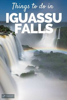 Iguassu Falls is one of the must see natural wonders on earth. As a matter a fact, it was recently named one of the new 7 Natural Wonders in the world. It's no wonder people make a point of visiting when traveling to Brazil or Argentina - here are 11 things do do here! | The Planet D Adventure Travel Blog: