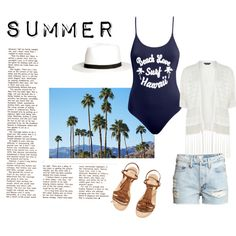 SUMMER by michellewl on Polyvore featuring Dorothy Perkins and H&M