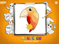 Have you played ***Memollow***, squishing the pillows full of puff of candies in a memory game?  This app is for everyone who fell in love with all the stunning images from Memollow app like frisky pony, cute excavator, or other happy and huggable hereos.   This time, Memollow COLORING PAGES is an app which belongs to the creative category, letting children feel free to express themselves!