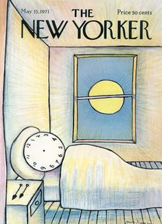André François : Cover art for The New Yorker 2413 - 15 May 1971