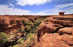 Bridge in King's Canyon, Northern Australia