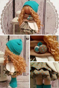 Home doll doll Tilda doll Art doll handmade by AnnKirillartPlace