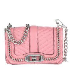 Rebecca Minkoff Tasche – Mini Love Crossbody Guava – in rosa – Umhängetasche für Damen