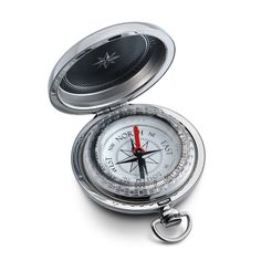 Special Sale $99 August 2016 Dalvey Silver Pocket Compass with custom engrave option