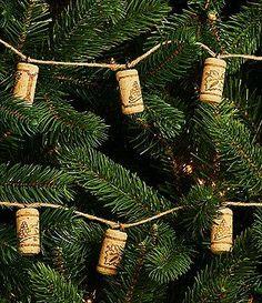 Trimsetter Cheers Collection Wine Cork Jute Garland