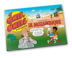 Jan, Jans en de kinderen in Mozambique, hardcover. Nu 9 euro, inclusief verzendkosten binnen Nederland.