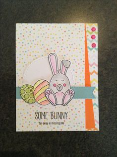 Simon Says Stamp March card kit - Some Bunny - by Cori Bailey #SSSFAVE