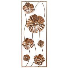 Flower Panel Wall Décor