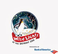 Image result for detroit zoo wild lights