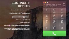 Cómo añadir un teclado a tu Mac para hacer llamadas a través de iPhone - http://www.actualidadiphone.com/2014/10/26/como-anadir-un-teclado-tu-mac-para-hacer-llamadas-traves-de-iphone/