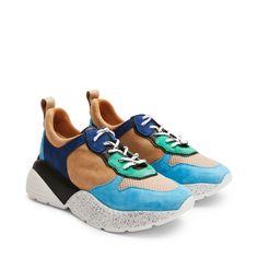 cheap for discount 06420 e8d75 Rizzo Adela chunky sneakers i mocka skinn   Rizzo