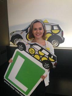 VALERIA GIRALDO!!! #hoyvoy #autoescuela #badalona