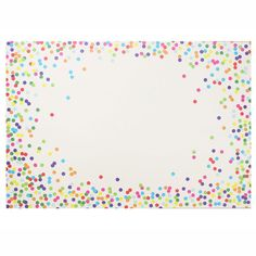 confetti placemats
