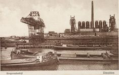 Steel Mill, Paris Skyline, Holland, History, Places, Travel, Nostalgia, The Nederlands, Historia