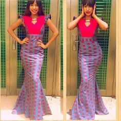 The collection of Beautiful Ankara Pattern Styles For Ladies you've ever wanted to see. Want to style and pattern your African print ankara African Inspired Fashion, African Print Fashion, Africa Fashion, African Attire, African Wear, African Women, African Outfits, African Style, Unique Ankara Styles