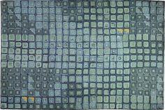 Tron rug by Asha Carpet
