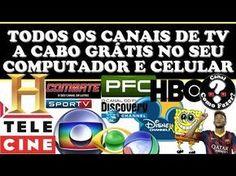 TODOS CANAIS DE TV A CABO NO ANDROID - +2500 CANAIS ABERTOS E FECHADOS EM HD - YouTube