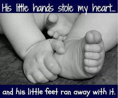 Little hands..