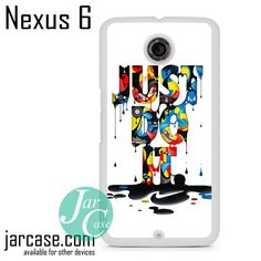 Nike Just Do It With Arts Phone case for Nexus 4/5/6