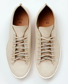Feit hand-sewn leather sneakers at Dover Street Market,