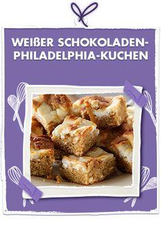 Weisser Schokoladen-Philadelphia Kuchen
