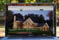 Millennium Custom Homes website designed by fatrabbit CREATIVE.