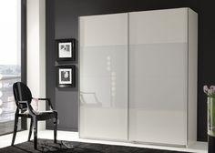 Kleiderschrank weiß hochglanz schiebetür  IKEA PAX Kleiderschrank mit Schiebetüren weiß matt 150x201x44 ...