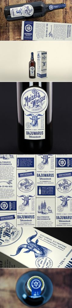 Maisel's Weisse Bajuwarus Is An Elegant Limited Edition Bavarian Beer — The Dieline | Packaging & Branding Design & Innovation News