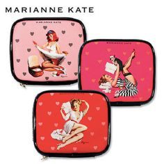 Marianne kateのおすすめポーチ① 化粧ポーチ