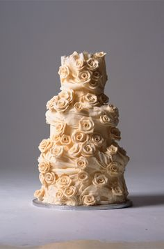 By 'Choccywoccydoodah'. Fell in <3 with this wedding cake after seeing it in a magazine back in '07.