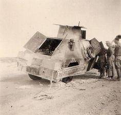 British Marmon Herrington scout car North Africa 1941