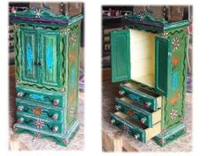 small painted cabinet by Painting Cabinets, Deviantart, Artist, Furniture, Home Decor, Decoration Home, Room Decor, Artists, Home Furnishings