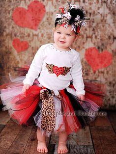 @Ashley Stice Marshall!  Perfect for LanLan!  Red Diva Leopard Mix Tutu