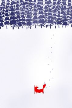 Be adventurous. Be fearless. Venture farther than you've ever gone before.  Alone in the forest byRobert Farkas