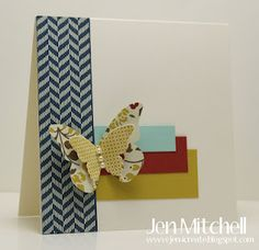 Papillon Potpourri for CCMC213 by jenmitchell - Cards and Paper Crafts at Splitcoaststampers