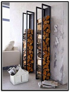 Firewood Storage Ideas Inside