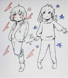 Asriel And Chara undertale/Storyshift by tomatolovespotato | Tumblr