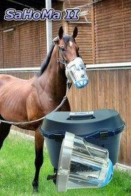 Inhalationsmaske Pferde SaHoMa II