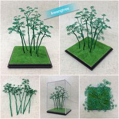 푸른 나무 #철사공예 #와이어아트 #와이어공예 #WireArt #WireCrafts #ワイヤーアート #針金細工 #はりがねさいく #Wiretree #WireWood #树 #에나멜선 #漆包线 #EnamelWire #エナメルワイヤa
