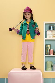 Gucci Kids 2017 Fall Winter Collection UFOs Tigers Cats Rainbows Loved 2314 - Gucci Kids - Ideas of Gucci Kids - Gucci Kids 2017 Fall Winter Collection UFOs Tigers Cats Rainbows Loved 2314 Little Fashion, Young Fashion, Baby Girl Fashion, Toddler Fashion, Kids Fashion, Girls Summer Outfits, Kids Outfits, Summer Clothes, Latest Clothing Trends