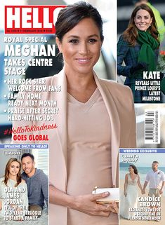 """""""Morning all! Here's your latest issue of with all the details from Meghan's busy week, including her trip with Harry to Bristol and William and Kate's day in Dundee. And a round up of week one of for good measure:"""" Adele, Hello Uk, Die Royals, World Balance, Royals Today, Hello Magazine, Royal Blood, Center Stage, Harry And Meghan"""
