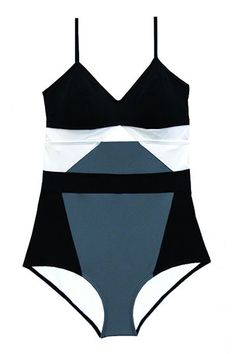 FlagpoleFounders Megan Balch and Jaime Barker's search for stylish and practical swimsuits that could handle the surf led to the creation of their brand, Flagpole Swim. We particularly love their cool color-blocking and inventive takes on the one-piece. Flagpole Joellen, $405, available at Flagpole.  #refinery29 http://www.refinery29.com/2016/05/111944/new-swimwear-brands-2016#slide-20