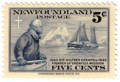 1941_Newfoundland_Postage_stamp_Wilfred_Grenfell.jpg (513×351)