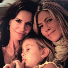 """Courteney Cox & Jennifer Aniston (@courteneycoxofficial) Instagram: """"Happy Birthday Jenny Louise! We've known each other so long I don't even remember why I call you…"""" Happy Birthday Jenny, Reese Witherspoon Instagram, Birthday Words, Cute Nicknames, Friends Cast, Messages For Her, I Call You, Morning Show, Long I"""