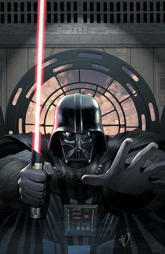 Star Wars - Darth Vader and the Ninth Assassin (Marvel Edition) – GetComics Darth Vader, Anakin Vader, Vader Star Wars, Anakin Skywalker, Star Trek, Star Wars Pictures, Star Wars Images, Assassin, Cuadros Star Wars
