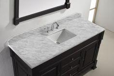 Small bathroom vanities with tops builders surplus bathroom vanity granite for tops with sinks remodel 9 Marble Countertops Bathroom, Granite Vanity Tops, Vanity Countertop, Marble Vanity Tops, Marble Top, White Marble, Carrara Marble, Cheap Bathroom Vanities, Single Bathroom Vanity