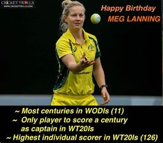 Happy Birthday Meg Lanning - facebook.com/MyCricketTrolls