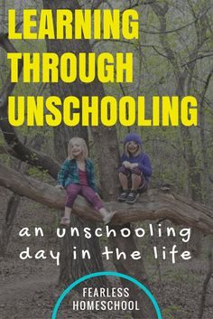 A homeschooling Day in the Life from Amber of Pitter Patter and Constant Chatter, who unschools her two daughters in Alberta, Canada.