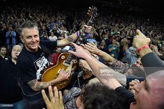Mike McCready of Pearl Jam performs at Wells Fargo Center on April 29, 2016 in…